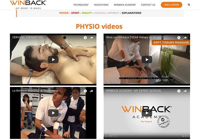 videos winback