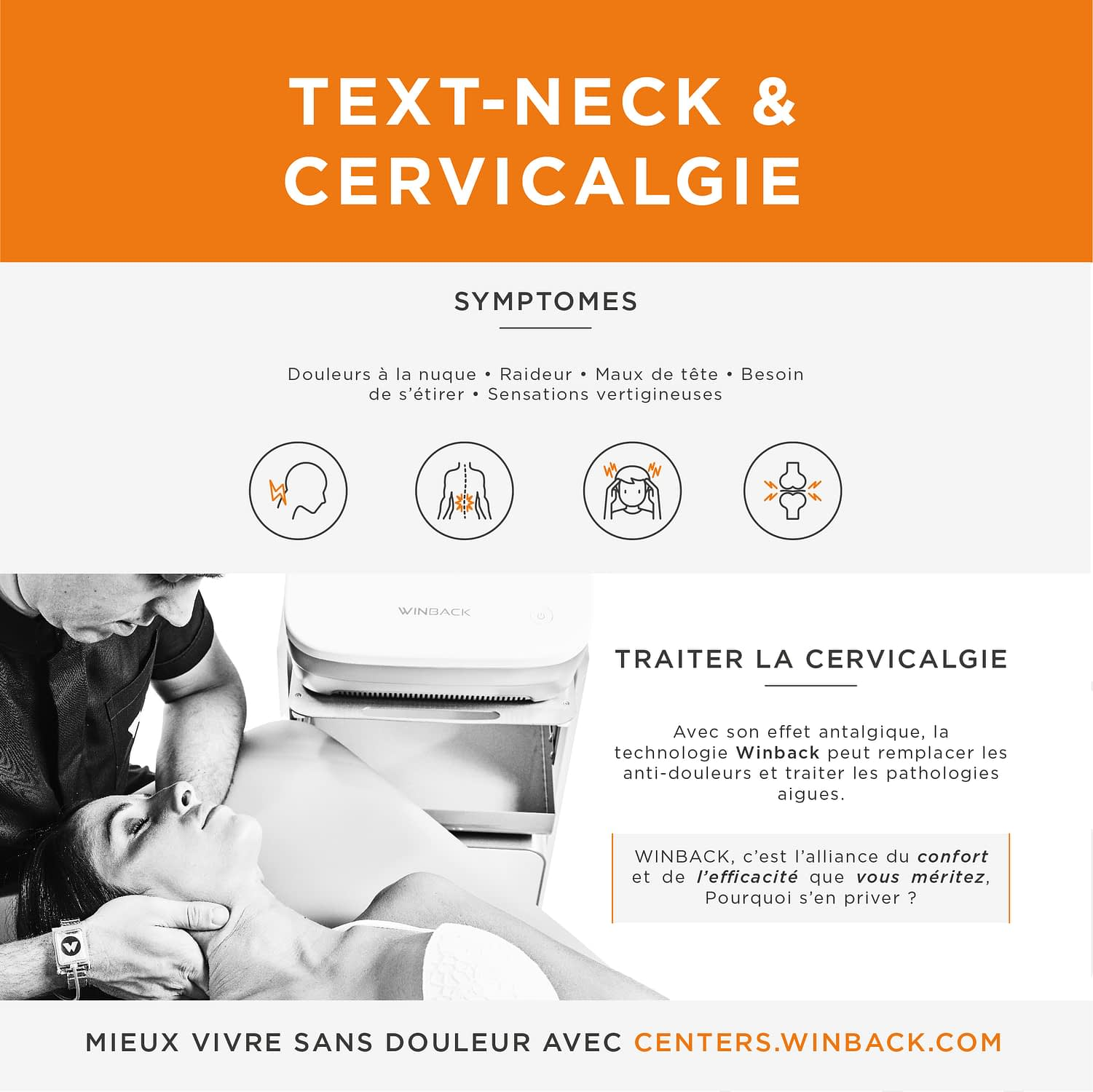 Cervicalgies text-neck