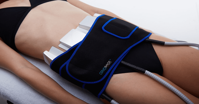 Cryoback slimming cryolipolysis