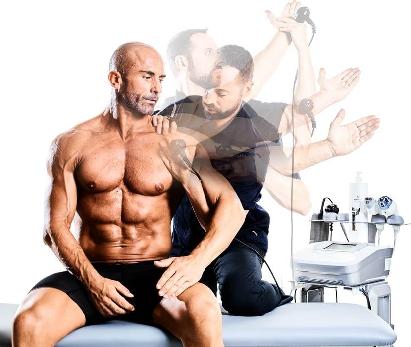 Tecartherapie entorses, déchirures musculaires, fractures